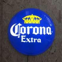 Luminoso Corona Bolha - 42 cm
