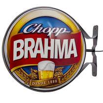 Luminoso Duplo Externo Chopp Brahma - 41cm