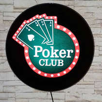 Luminoso Poker Club - 40cm