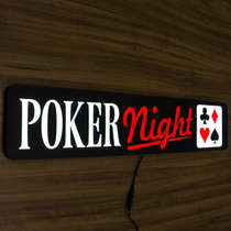 Luminoso Poker - 70cm