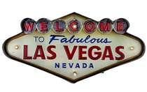 Luminoso a pilha - Welcome to Vegas - LED