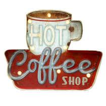 Luminoso a pilha - Hot Coffee Led
