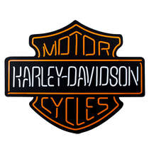 Luminoso com LED Harley Davidson - 60cm