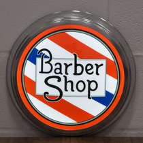 Luminoso LED American Retro - Barber Shop - 31 cm