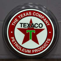 Luminoso LED American Retro - Texaco - 31 cm