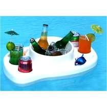 Mesa Bar Flutuante Piscina - Branco