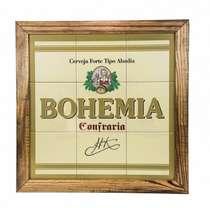 Quadro Mosaico com Azulejos - Bohemia Confraria - 53x53cm