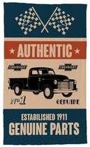 Pano de Prato - Authentic Chevrolet