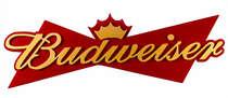 Placa Artesanal Laqueada Budweiser