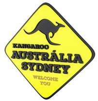 Placa Decorativa MDF Pintura Laca - Austrália