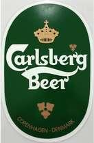 Placa Artesanal Laqueada - Carlsberg Beer