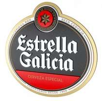 Placa Artesanal Laqueada - Estrella Galícia