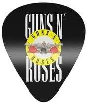 Placa Artesanal Laqueada - Guns n´ Roses