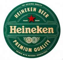 Placa Artesanal Laqueada - Heineken