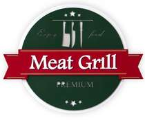 Placa Artesanal Laqueada - Meat Grill