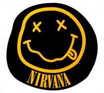 Placa Artesanal Laqueada - Nirvana