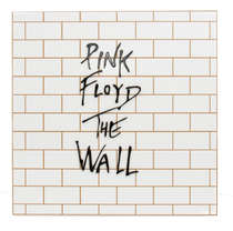 Placa Artesanal Laqueada - Pink Floyd The Wall