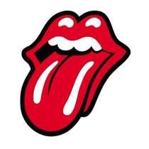 Placa Artesanal Laqueada - Rolling Stones