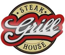 Placa Decorativa MDF Pintura Laca - Steak House Grill