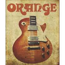 Placa Decorativa MDF - Orange