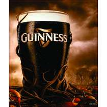 Placa Decorativa MDF - Guinness