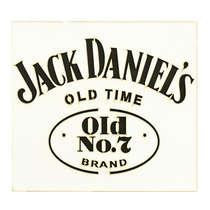 Placa Decorativa MDF - Jack Daniel's -  24 x 26 cm