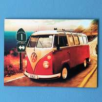 Placa Decorativa MDF - Kombi 30x20cm