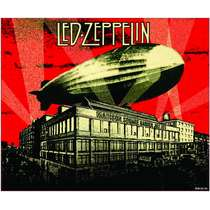 Placa Decorativa MDF - Led Zeppelin