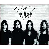 Placa Decorativa MDF - Pink Floyd