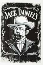 Placa Decorativa de Metal 30x20cm - Jack Daniel´s- Old Jack