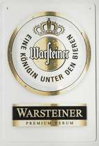 Placa Decorativa de Metal 30x20cm - Warsteiner