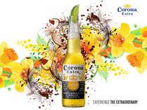 Placa Decorativa de Metal 30x40cm - Corona Summer