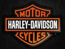Placa Decorativa de Metal 30x40cm - Harley Davidson  Brasão