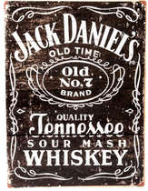 Placa Decorativa de Metal 30x40cm - Jack Daniel´s Old