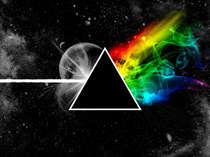 Placa Decorativa de Metal 30x40cm - Pink Floyd