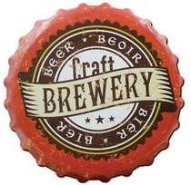 Placa MDF Craft Brewery - 20 x 20 cm