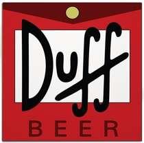 Placa MDF Duff  - 29 x 29 cm