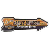 Placa MDF Formato Seta - Harley Davidson