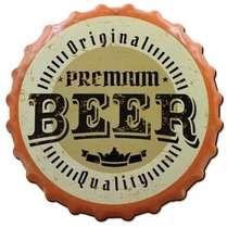 Placa MDF Premium Beer - 20 x 20 cm
