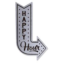 Placa MDF Seta Happy Hour - Industrial