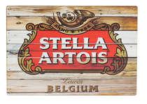 Placa MDF Stella Artois - 42x30 cm