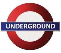Placa MDF Underground - 35 x 42 cm