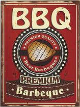 Placa MDF - BBQ Premium- 30x40 cm