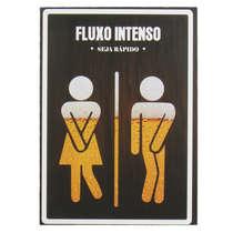 Placa MDF - Fluxo Intenso