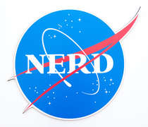 Placa MDF - NERD