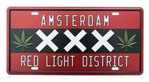 Placa Metal Vintage - Amsterdam