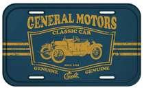 Placa Metal Vintage - Classic Car Chevrolet