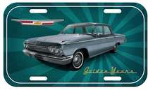 Placa Metal Vintage - Golden Years Chevrolet