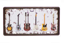 Placa Metal Vintage - Guitar Heaven
