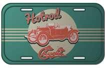 Placa Metal Vintage - Hotroad Chevrolet